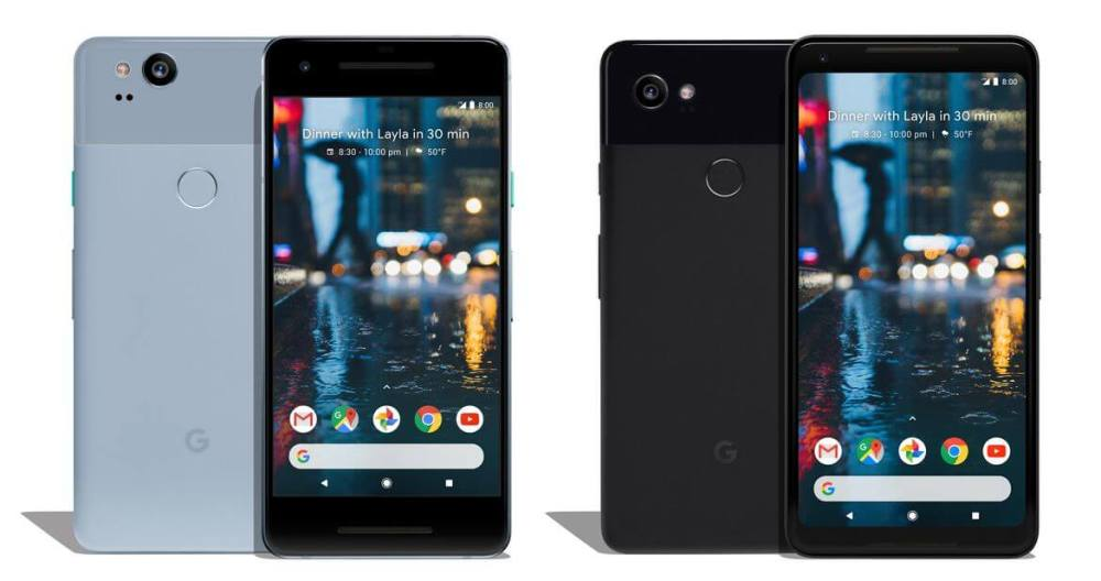 Pixel 2 and 2XL