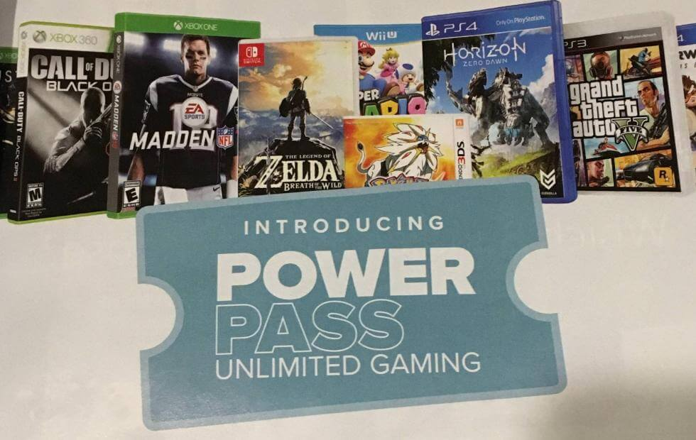 GameStop Powerpass