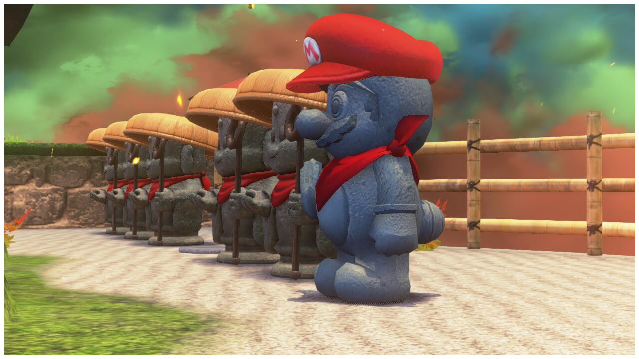 Jizo Capture Mario Odyssey