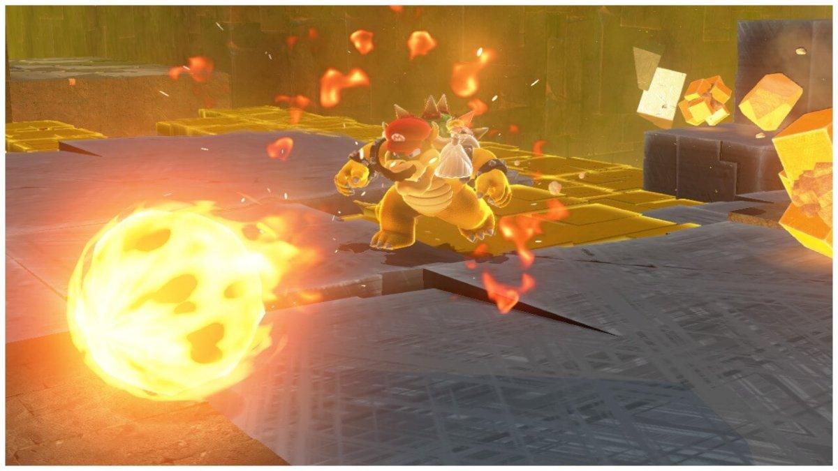 Bowser Capture Mario Odyssey