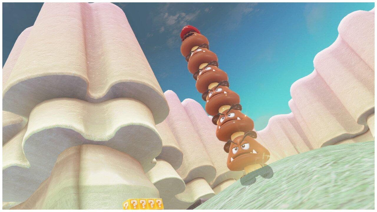 Goomba Capture Mario Odyssey