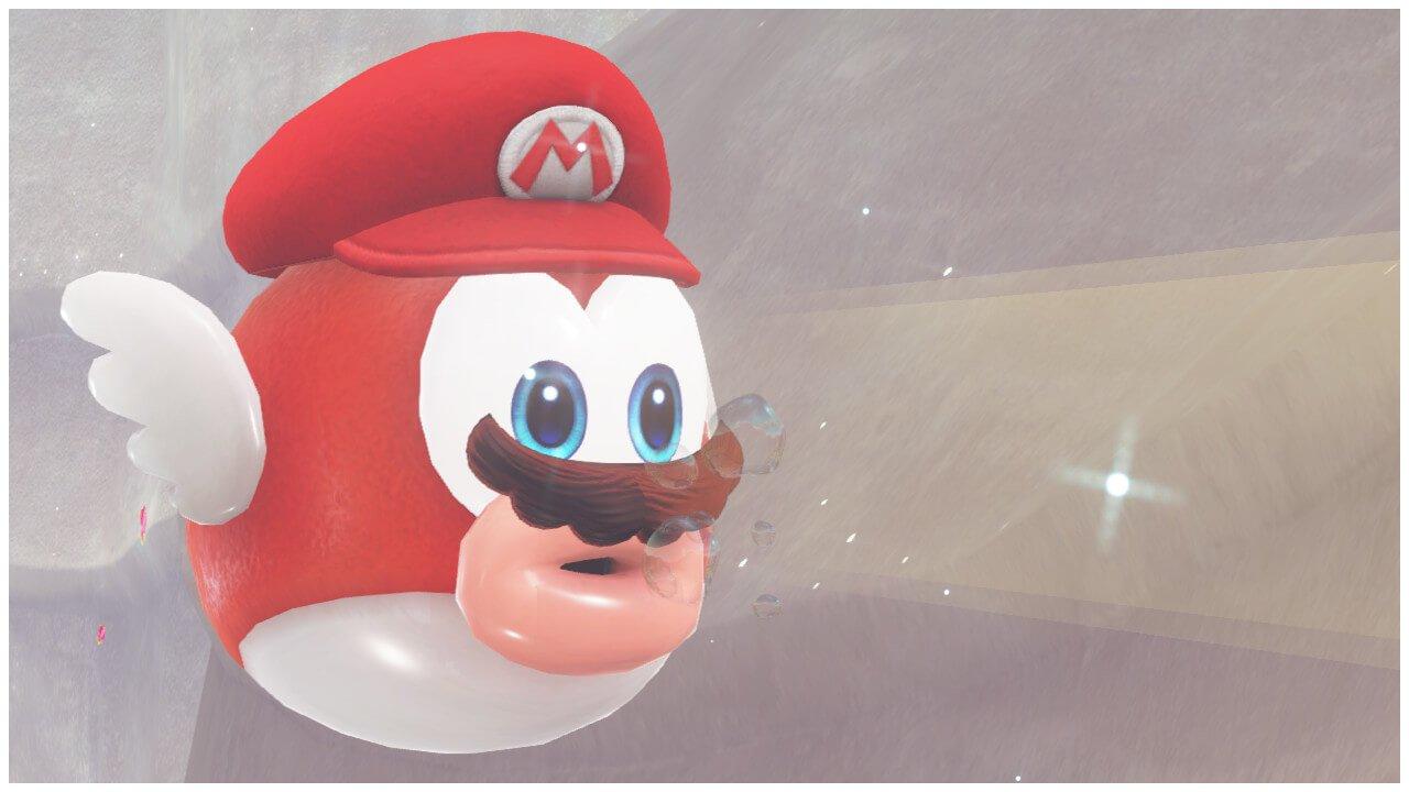 Cheep Cheep Capture Mario Odyssey
