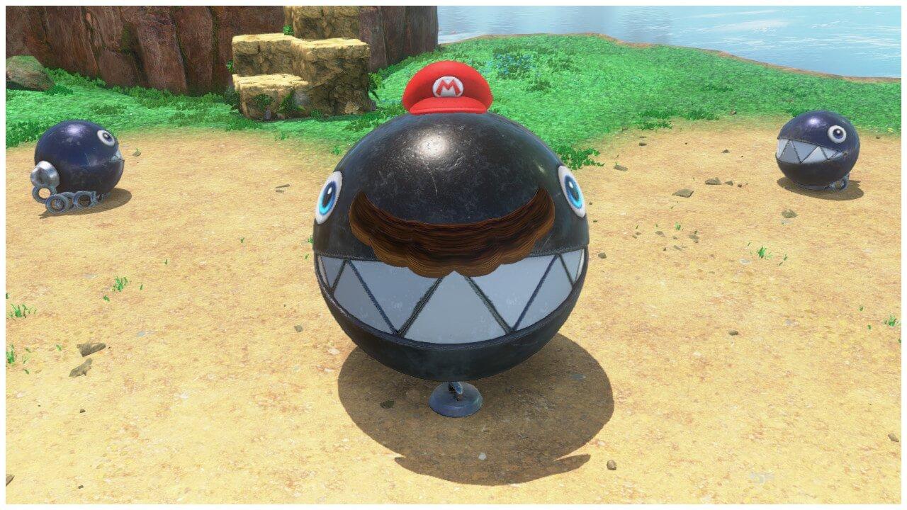 Big Chain Chomp Capture Mario Odyssey