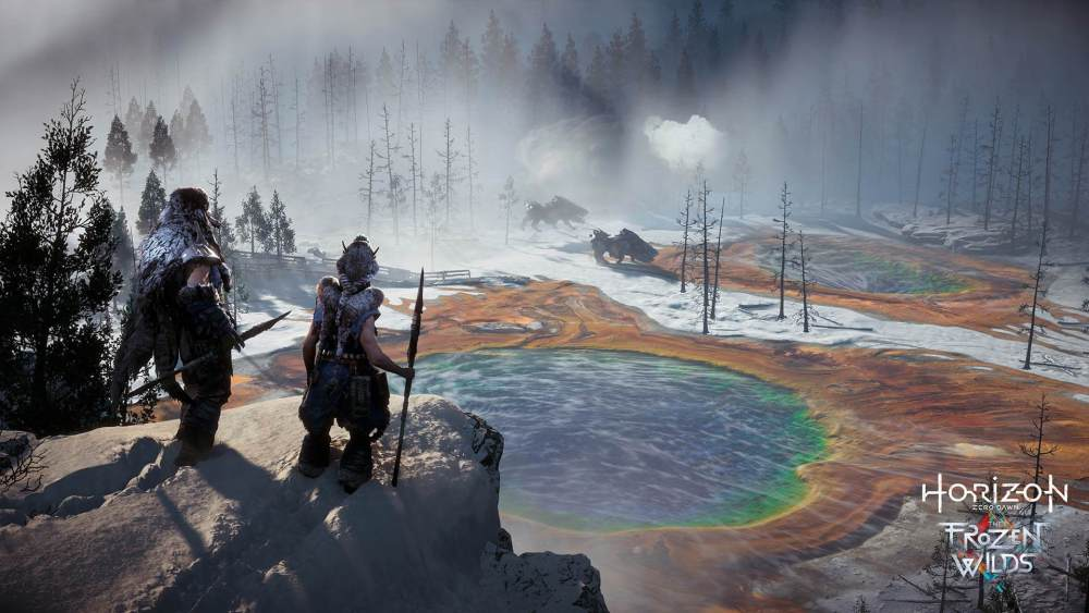 Horizon Zero Dawn The Frozen Wilds Excited Featured Image