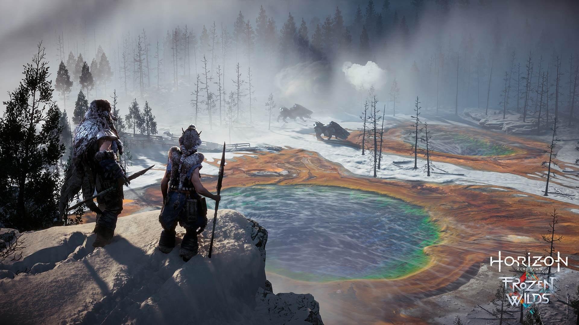 Horizon Zero Dawn The Frozen Wilds Excited Featured Image