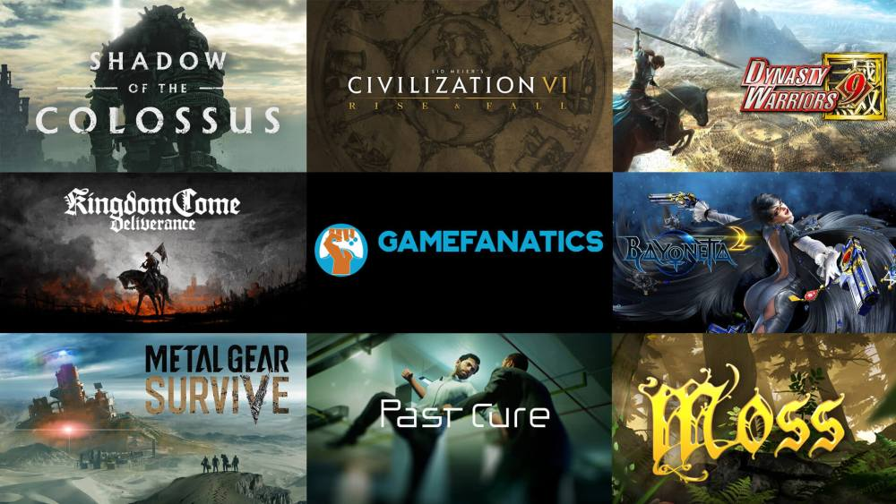 Upcoming Games February 2018