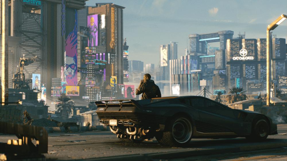 Cyberpunk 2077 Car