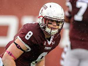 Tyler Matakevich left his mark on Temple by helping them have a historic year. He looks for one final win. (Courtesy, Philly.com)