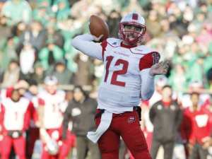 WKU QB Brandon Doughty is a darkhorse NFL quarterback. Can he end his college career with a W? (Courtesy, USA Today)
