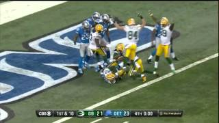 Aaron Rodgers Hail Mary victory!