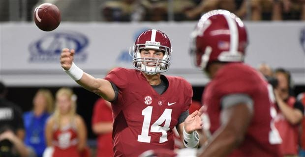 Jake Coker has improved all season long and has to play well for the Crimson Tide in the Championship Game. Courtesy of alabama.247sports.com