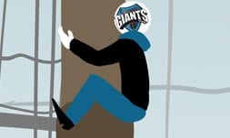 Giants has kind of been like this. The whole time. Like every split. Courtesy of Caster Comix