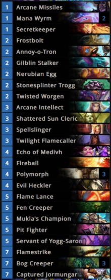 12-0 Mage Arena Deck