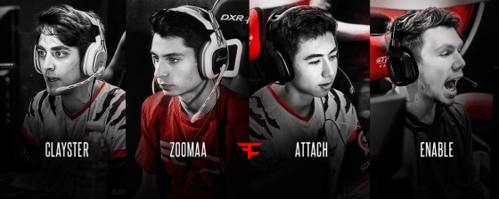 FaZe, led by Clayster, moved to 4-2 and successfully rebounded from last night's loss. (Photo Courtesy: FaZe Clan)