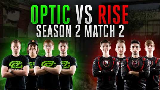 OpTic Gaming versus Rise Nation will be a battle for the top of the standings in CWL:NA (Photo Courtesy: YouTube)