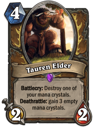 Tauren Elder card