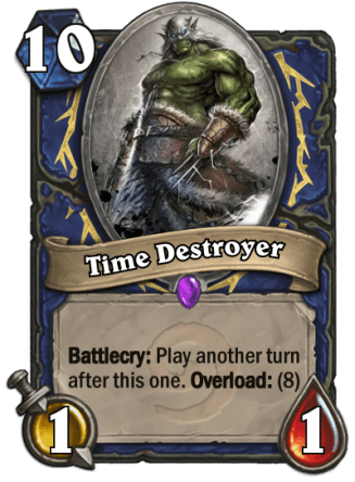 time destroyer