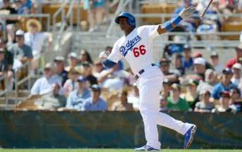 MLB: Spring Training-Oakland Athletics at Los Angeles Dodgers