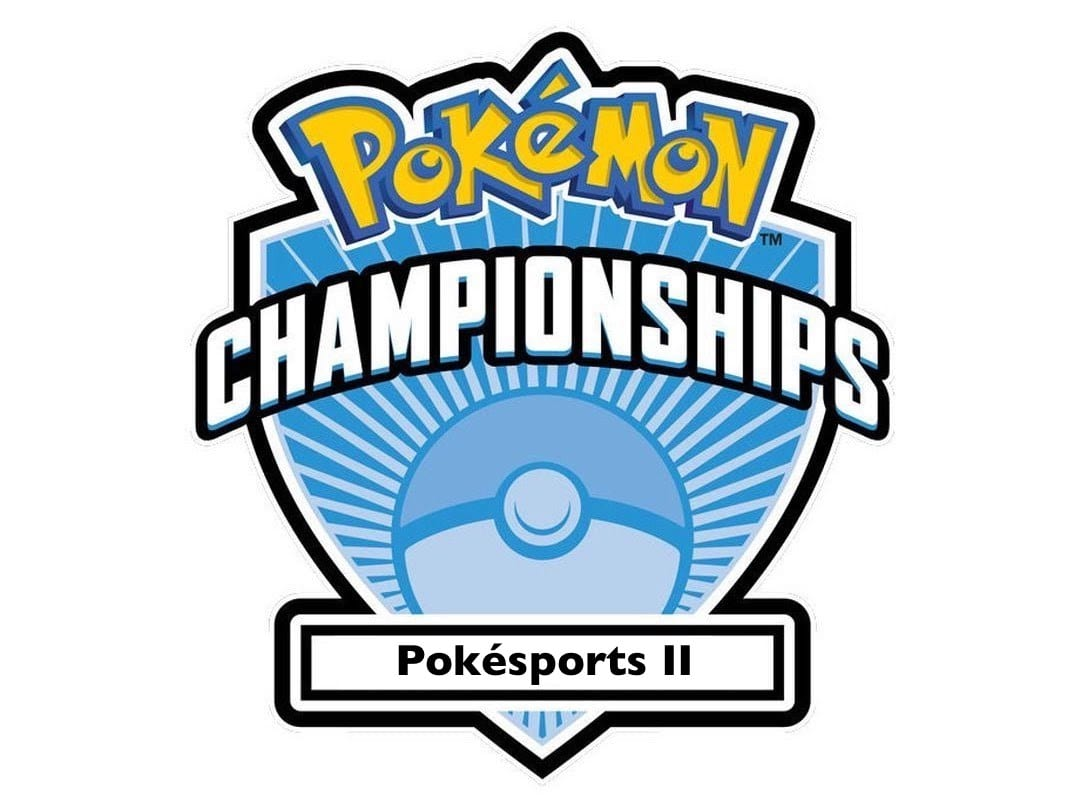 Pokesports II competitive Pokemon logo