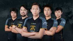 Fnatic at TI6