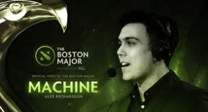 Host of the Boston Major - Machine