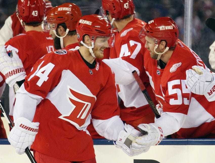Gustav Nyquist, Brian McGratten, Edmonton Oilers, Zach Kassian, Vancouver Canucks, Charlie Coyle, Minnesota Wild, Duncan Keith, Florida Panthers, Chicago Blackhawks, Detroit Red Wings, Sam Gagner, NHL, Department of Player Safety, Suspension, Hockey, High-Stick