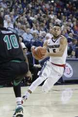 Nigel Williams-Goss of Gonzaga Men's Basketball