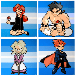 Game Freak Elite Four
