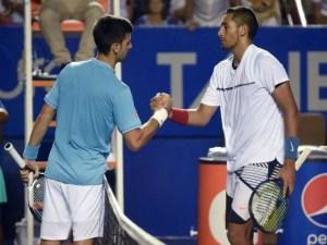 Novak Djokovic Nick Kyrgios