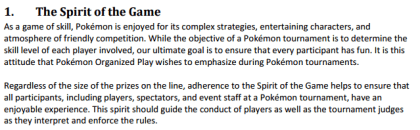 spirit of the game pokemon