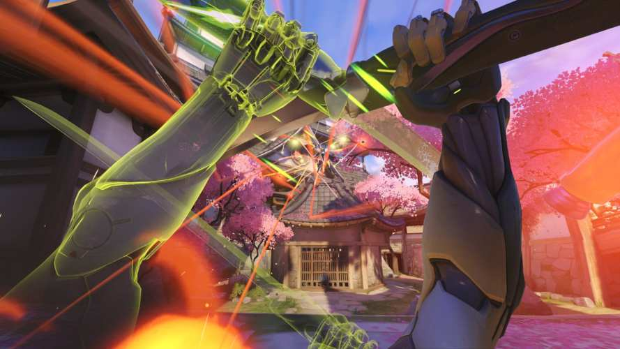 Genji's deflect