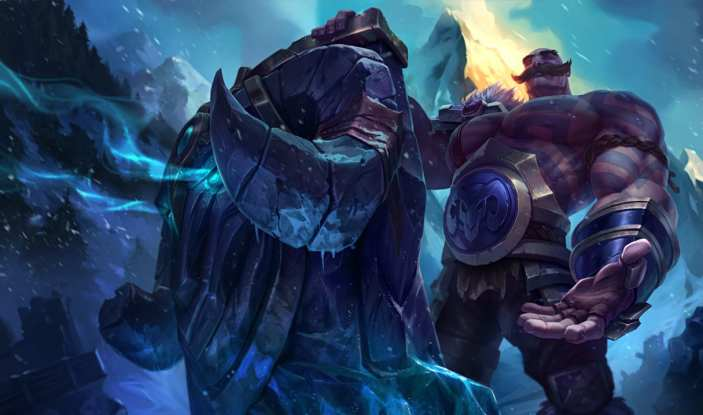 Braum is trending down in EU LCS in week nine