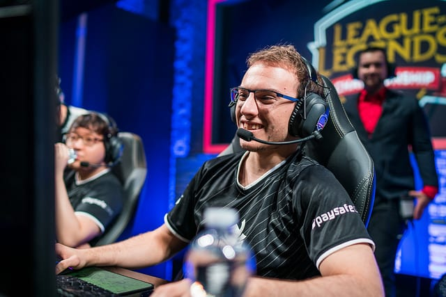 Perkz is G2's mid laner at the 2017 EU LCS Summer Split finals