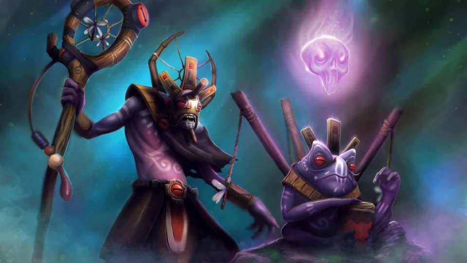 witch doctor, dota 2, support