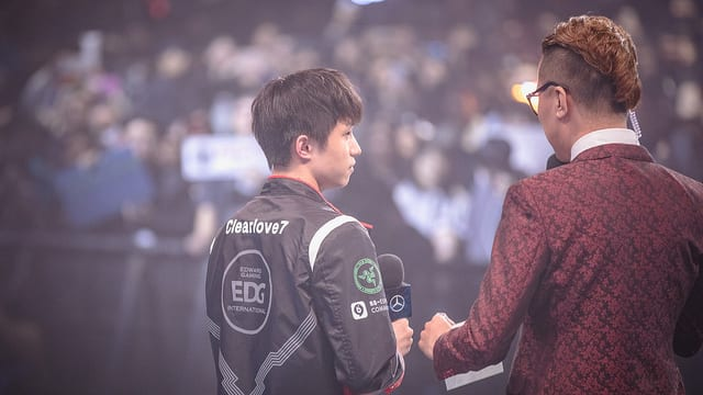 EDG's Clearlove was the most OP jungler in week two of worlds