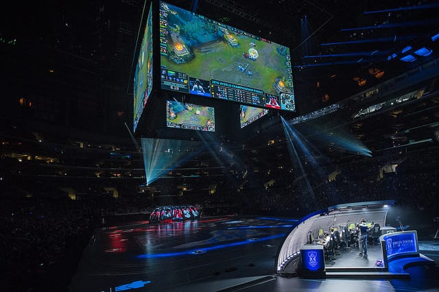 Samsung Galaxy and SK telecom T1 faced off in the 2016 Worlds finals