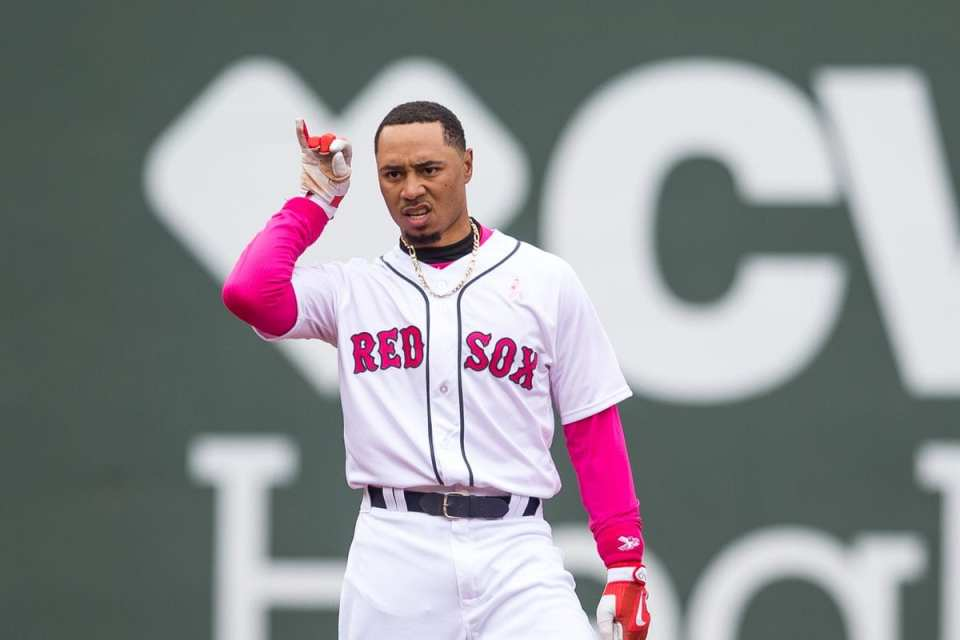 Mookie Betts contract 2018