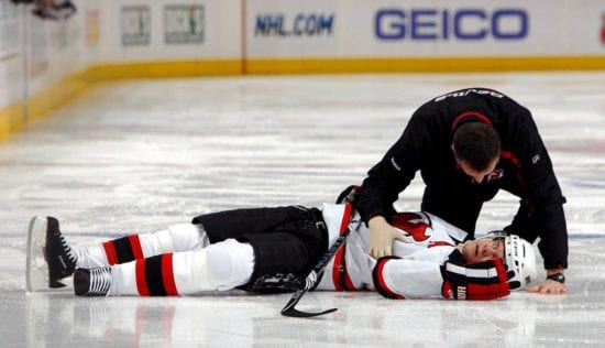 NHL concussions