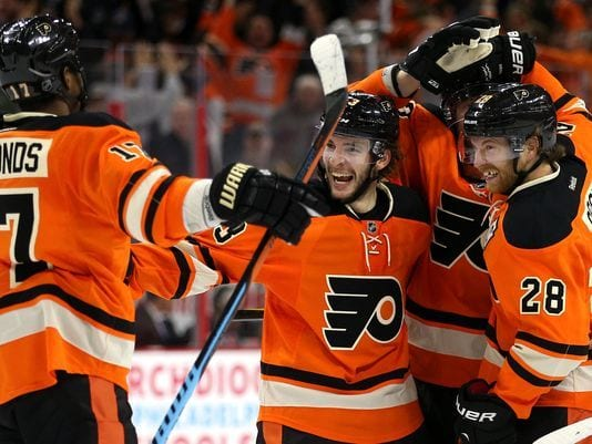 Flyers Keep Surging