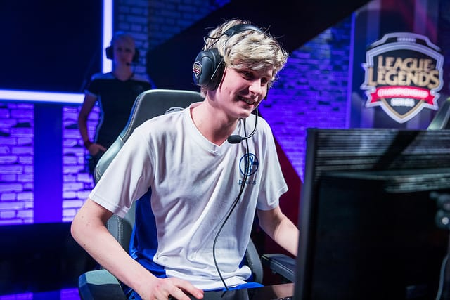 Upset will be a rookie in the 2018 EU LCS Spring Split