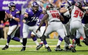 Minnesota Vikings offensive line
