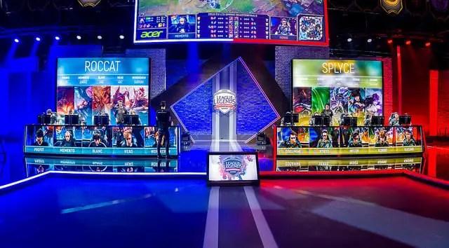 ROCCAT faced Splyce in the quarterfinals of 2018 Spring Split playoffs