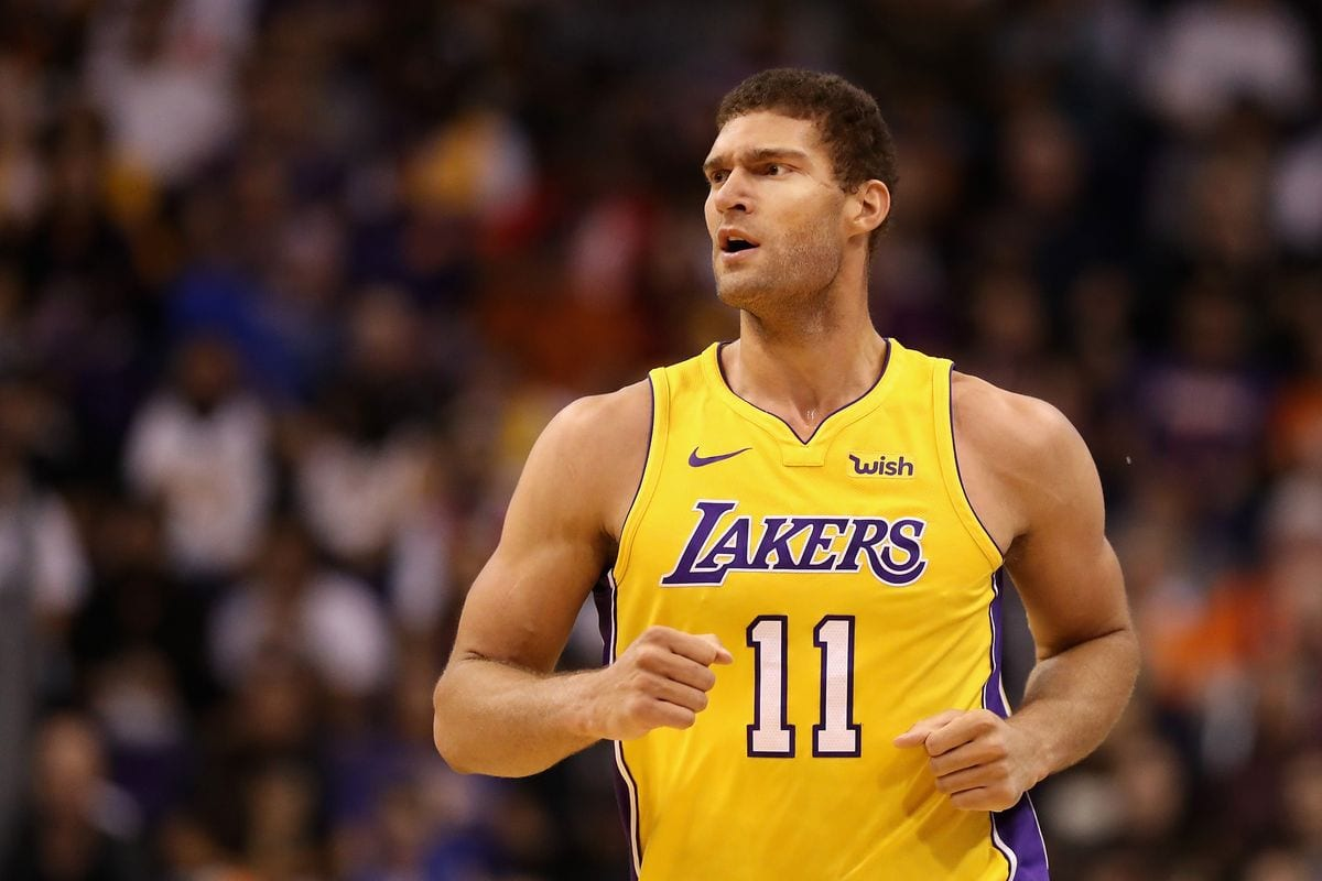Brook Lopez haircut