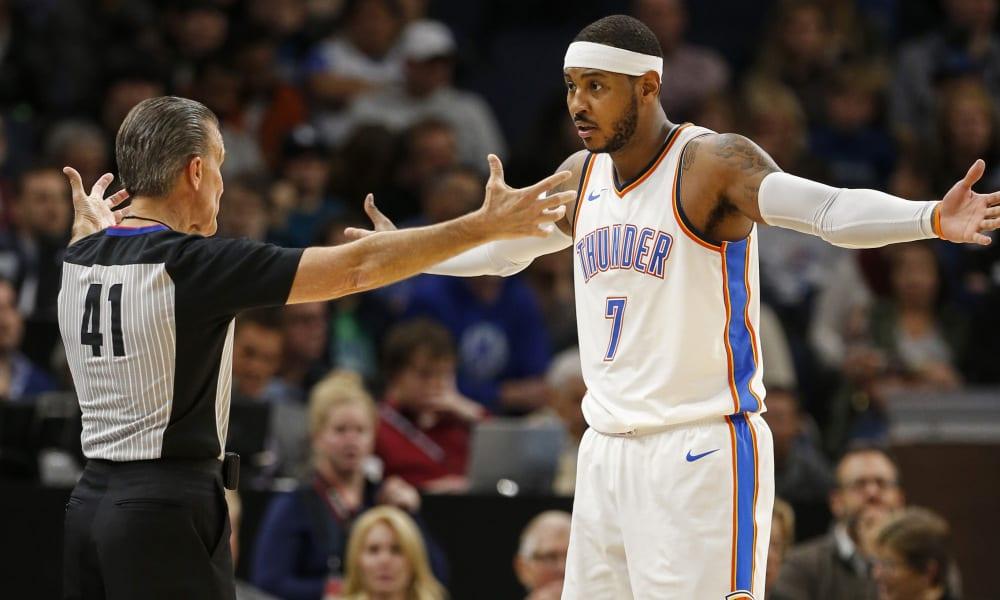 Carmelo Anthony playoffs