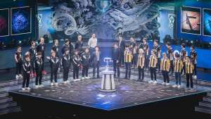 RNG represented the LPL as second seed at the 2018 World Championship