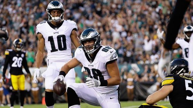 Eagles first preseason game