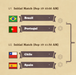 Global Games Round of 16