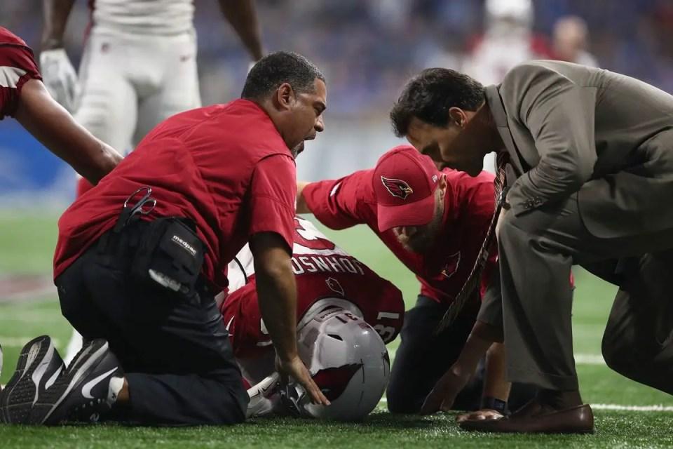 NFL week one injuries