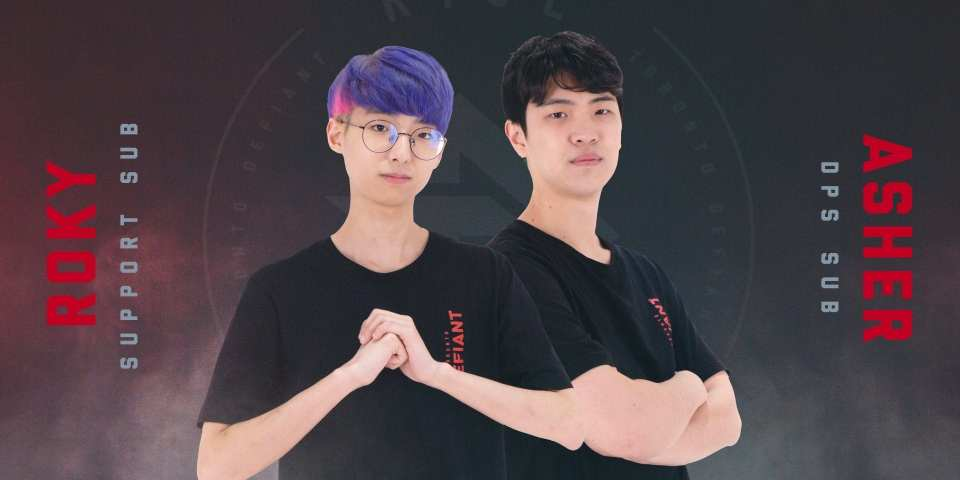 Toronto Defiant signs Asher and RoKy