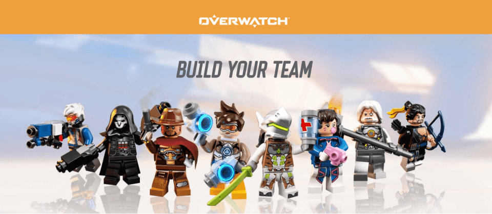 LEGO Overwatch Sets Released